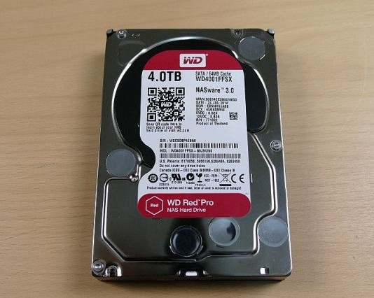 Western Digital Red Pro 4TB HDD İncelemesi