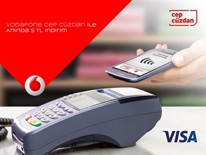 Vodafone-Cep-Cüzdan