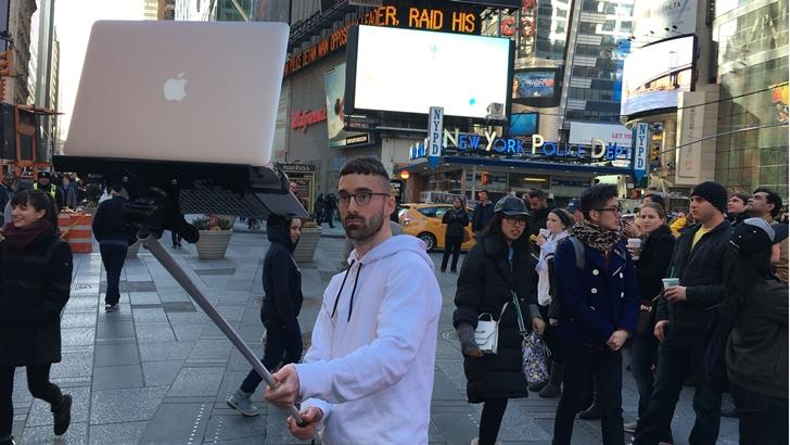 Macbook İçin Selfie Çubuğu